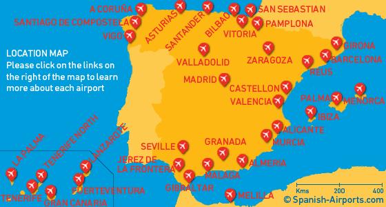 spanish airports