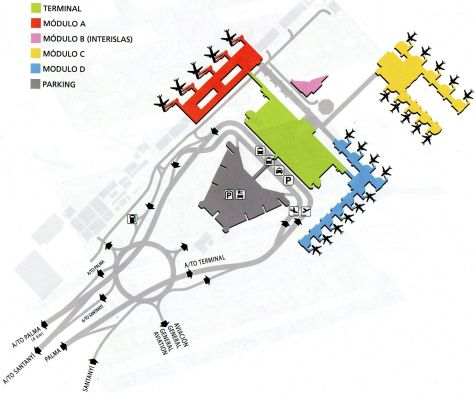 plan of Palma Airport